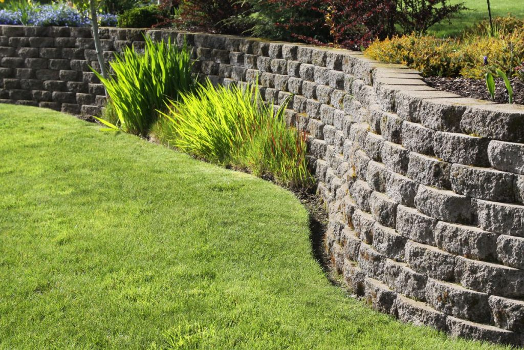 Retaining Wall North Vancouver